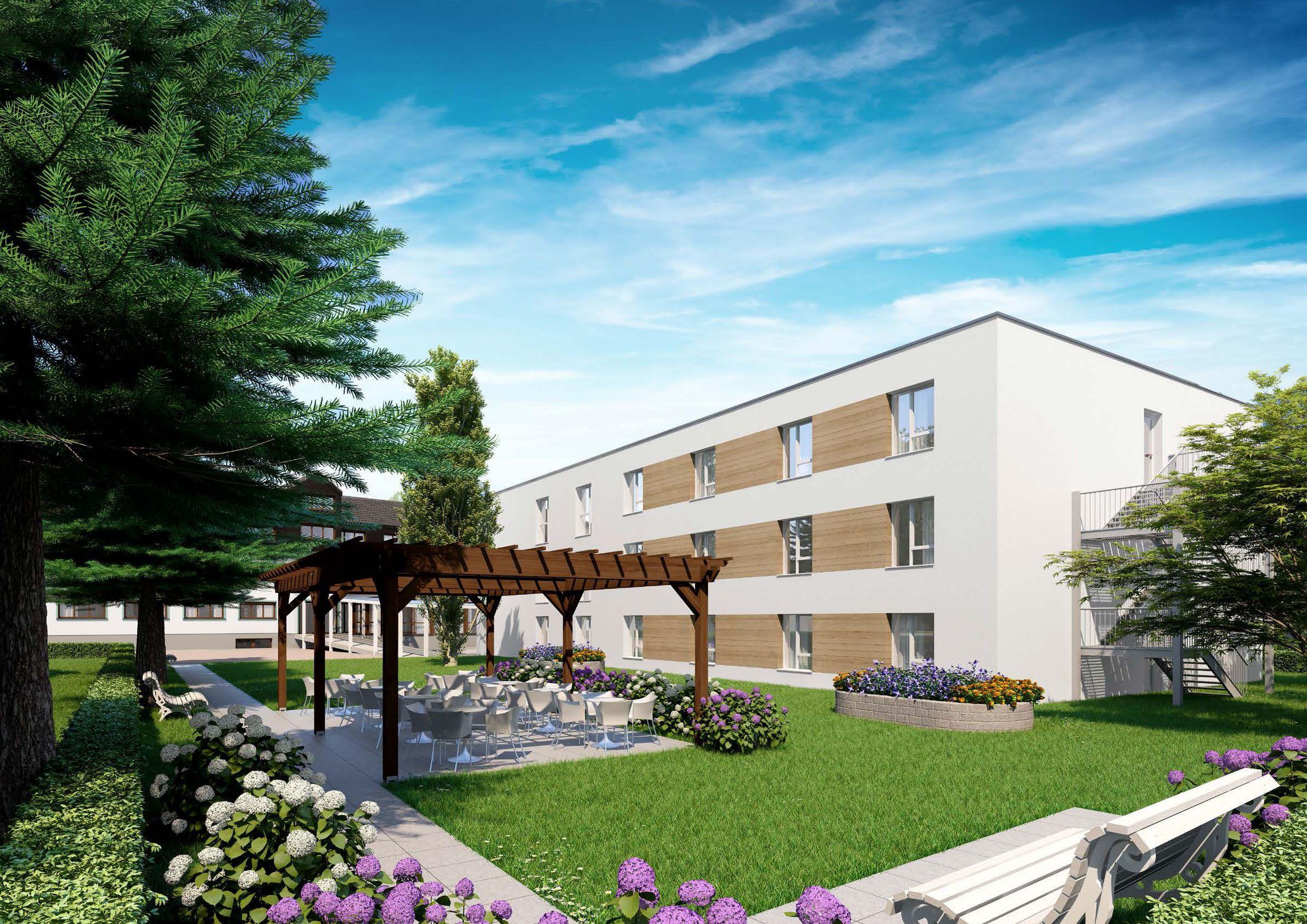 Pflegeheim Kehl Neubau Offenburg Pflegeimmobilie In